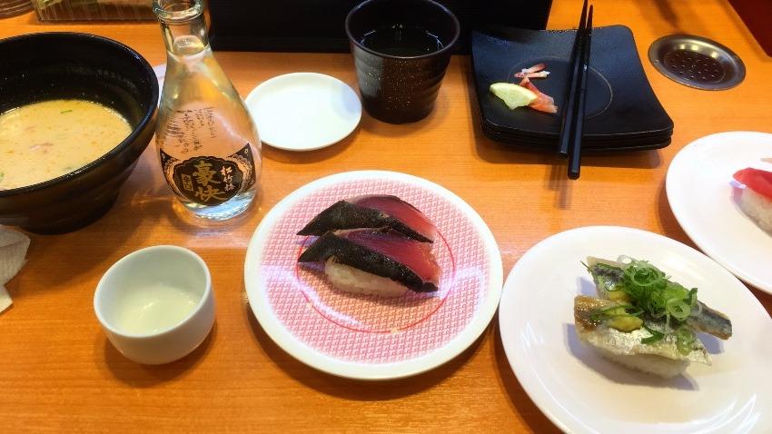 回転寿司屋で日本酒を頼む人の気持ちになってみた